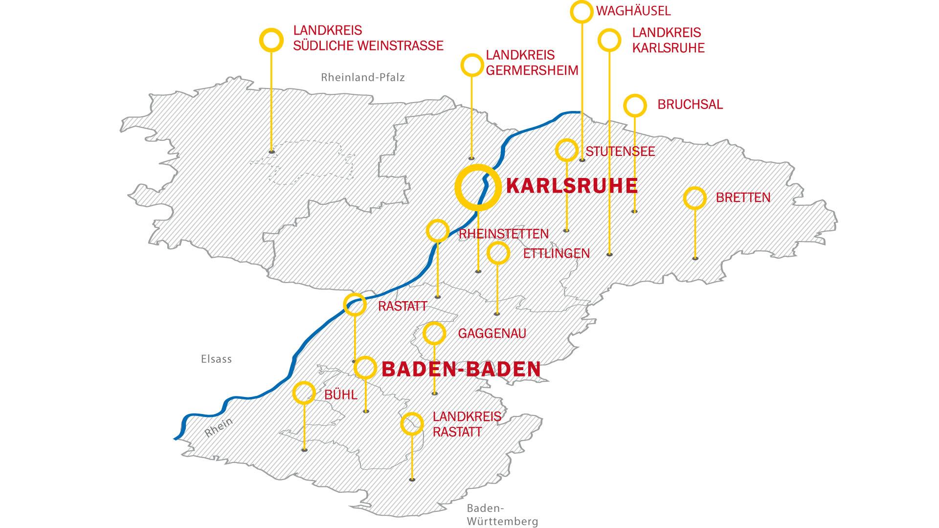 Karlsruhe Karte.Landingpage Trk